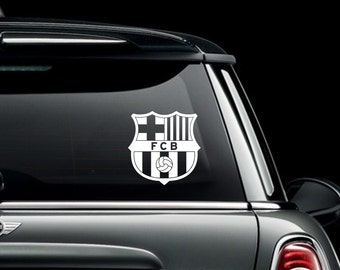 FC Barcelona Vinyl Decal Bumper Sticker