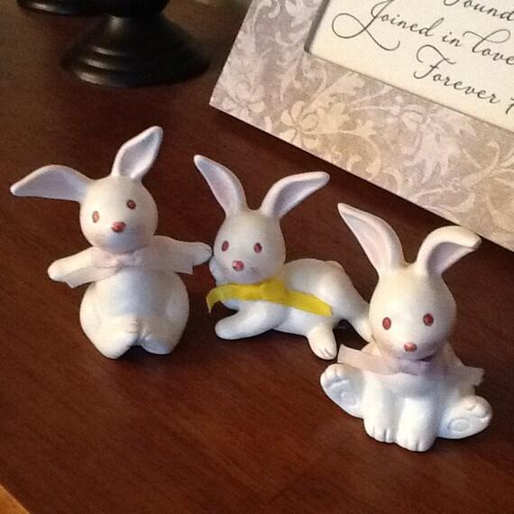 Takahashi Ceramic Bunny Rabits