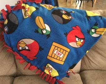 Angry Bird Blanket