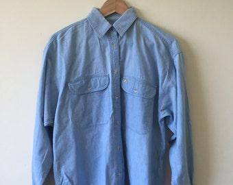 Vintage Liz Claiborne l/s denim shirt