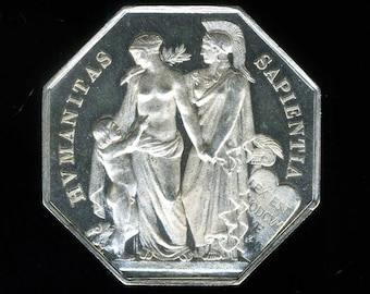 Silver medal - Token of NOTARIAT FRANCE