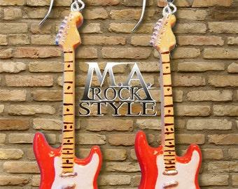 Fender earrings.