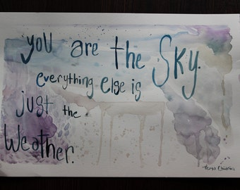 YOU ARE SKY quote