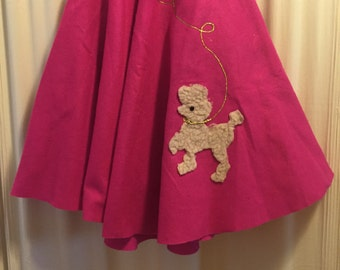 A glorious 1950s Poodle Skirt!