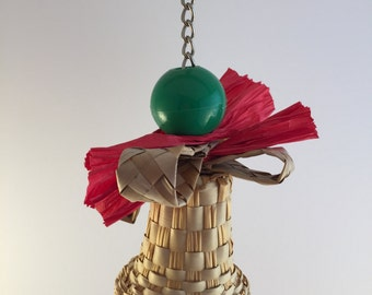 Christmas Bell Parrot Toy
