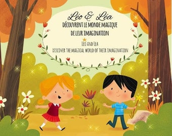 CD Léo and Sam discover the magical world of imagination (English and French)