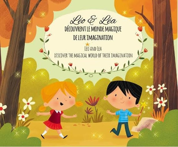 SPECIAL! CD Léo and Léa discover the magical world of their imagination (English and French)