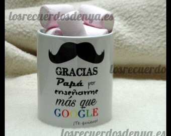 Cup thank you dad, gift for Dad