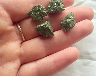 Pyrite Stone Earrings