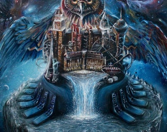 11inX14in EDC Official Poster Oil Painting PRINT