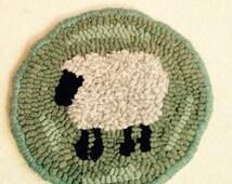 Little Sheep Rug Hooking Kit