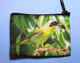 Yellowthroat Warbler Coin Purse