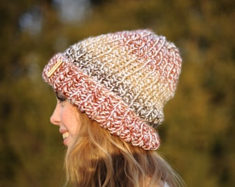 Colorful Ombre Beanie