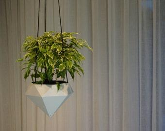 Hanging planter Diamond 3D printed