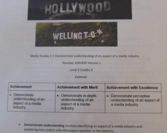 Hollywood's America media studies lesson resource