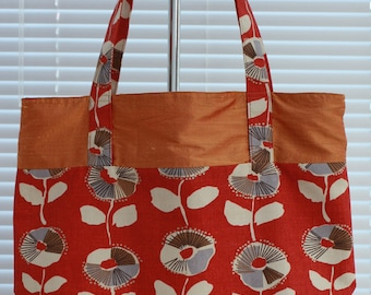 Handmade Shoulder Tote Bag, Commuting Bag, Travel Bag