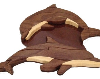 Wooden Dolphins