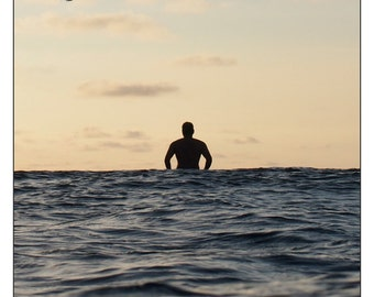 """Surf Photography SALE: """"Chopper"""", Print on archival paper"""