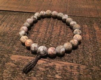 Natural Maifanite Beaded Bracelet