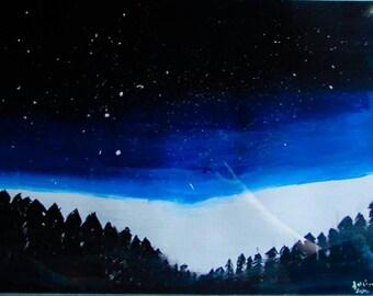 Acrylic paintings, galaxy paintings, galaxy artwork, fantasy paintings, fantasy art