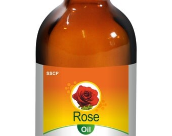 Rose Oil -Pure & Natural - 5 ml to 250 ml