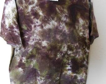 100% cotton Tie Dye T-shirt MMXL56 size XL