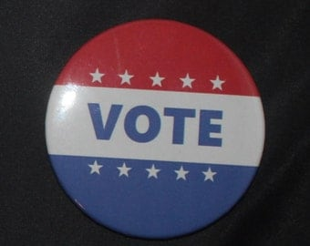 Vote - Button Pin - P-V10010