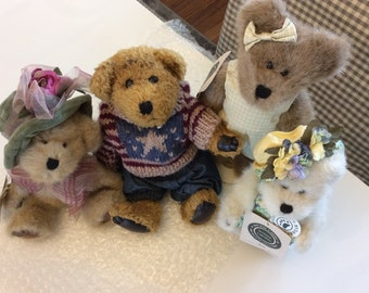 Boyd's Bears - set of 4