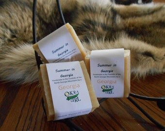 Summer In Georgia - Gardenia Scented Soap