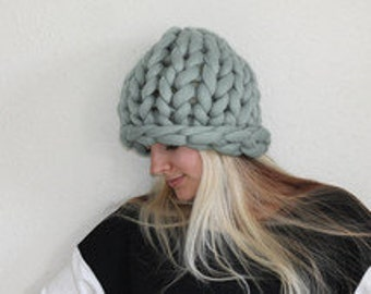 Super Chunky Knit Hat