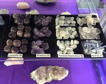 Reiki Charged Metaphysical Healing Stones