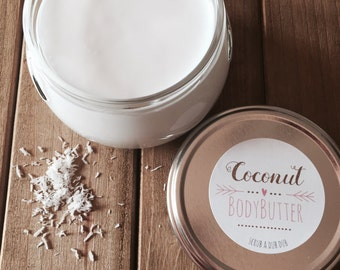 Homemade Whipped Coconut Oil  Coconut Body Butter: Lake Life Candle Co. & scrub.a.dub.dub. Made in WI
