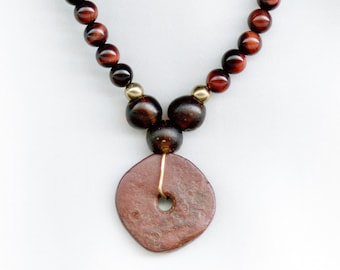 Ancient African Red Disc