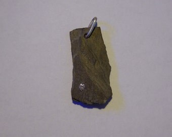 Rock my world - Derbyshire slate and diamond