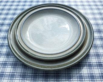 Vintage Denby England Pottery Side/Tea/Bread and Butter Plate 1970s Retro Sahara Design