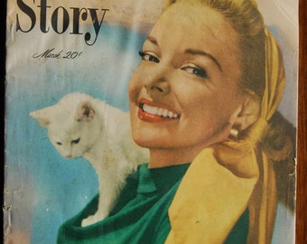 True Story Women's Magazine March 1949