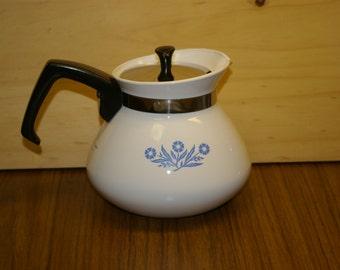 Vintage corning tea kettle - Very nice!