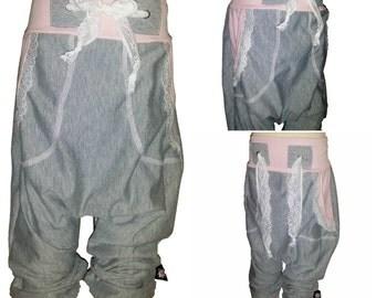 Pattern for harem pants size 50-164