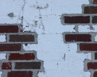 Decayed Painted Brick 1