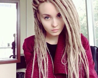 Blonde Smooth Double Ended Dreads
