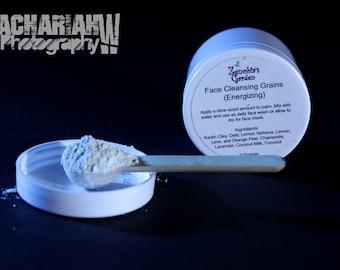 Facial Grains Natural Cleanser Energizing Blend 2 Oz