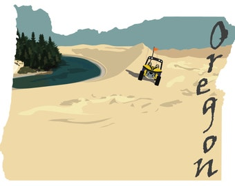 Oregon: Sand Dunes