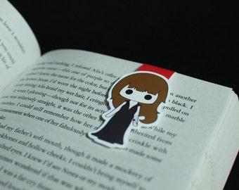 Female Hunter   Magnetic Bookmark