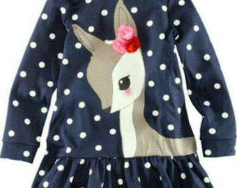 Polkadot Deer Dress
