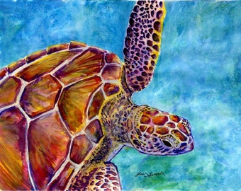 Original Watercolor Giclee Print on Stock Paper