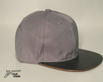 Your Vision snapback wooden brim hats
