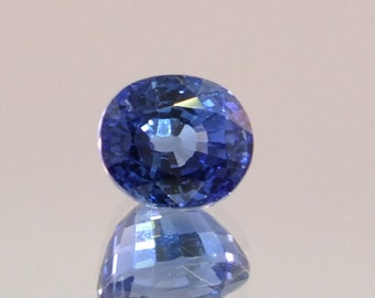 Blue Sapphire 3.22 Ct Ceylon blue Sapphire