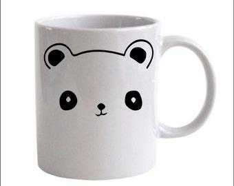 Cute Panda Coffee Mug - Kawaii AF