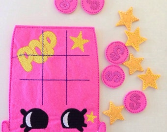 Pop Shopkins  Tic Tac Toe Game