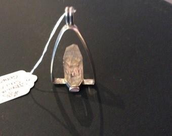 Original silver Quartz pendant